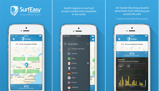 Free iOS VPN - Surfeasy iOS VPN App Itunes