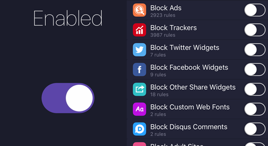1blocker-Ad-Blocker for iOS